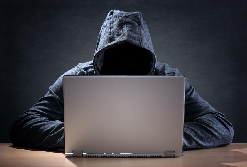 Haker laptop